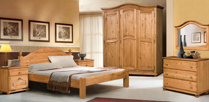 Шкафы для спальни из массива дерева купить