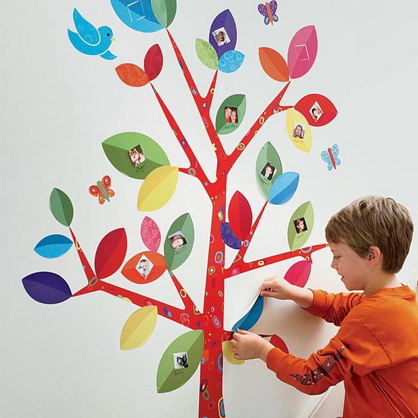 Как оформить детское фото своими руками