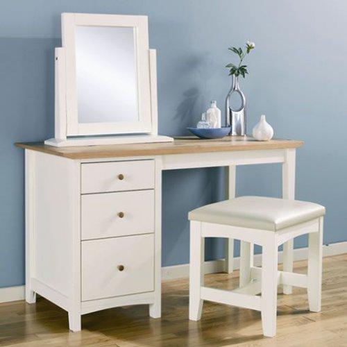 Туалетный столик с зеркалом Лира. . Цвет - бук. . Материал набора мебели - ламинированная ДСП 16 мм. и 22 мм